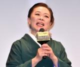 映画『大コメ騒動』のプレミア試写会に出席した柴田理恵 (C)ORICON NewS inc.