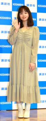 1st写真集『NANAMI写真集blow』記者会見に登壇したNANAMI (C)ORICON NewS inc.