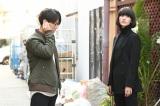 日本テレビ系連続ドラマ『レッドアイズ 監視捜査班』に出演する(左から)亀梨和也、シシド・カフカ (C)日本テレビ