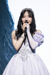 NMB48の2期生・村瀬紗英の卒業コンサート(大阪・オリックス劇場)(C)NMB48