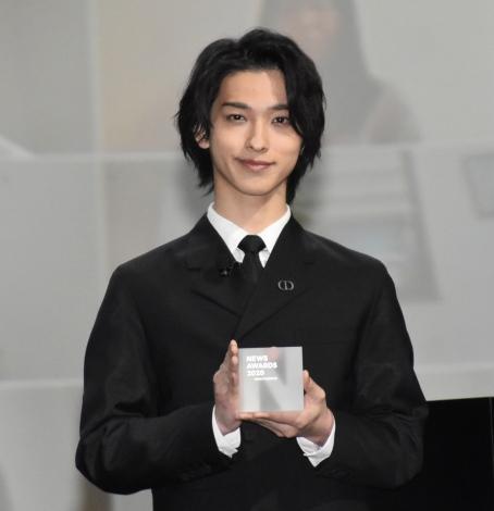 『LINE NEWS Presents NEWS AWARDS2020』の「俳優部門」を受賞した横浜流星 (C)ORICON NewS inc.