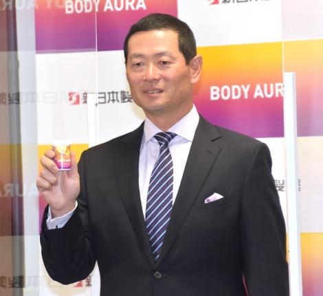 現役時代はかぜによく引いていたという事実を明かした桑田真澄=新商品のサプリメント『BODY AURA』の発表会 (C)ORICON NewS inc.