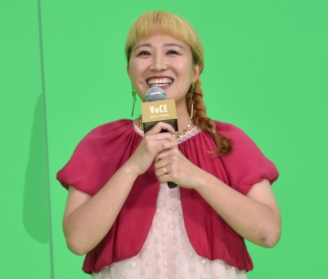 『VOCE BEST COSMETICS AWARDS 2020』の生配信イベントに出演した丸山桂里奈 (C)ORICON NewS inc.