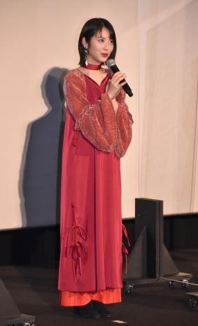 映画『約束のネバーランド』の初日舞台あいさつに出席した浜辺美波 (C)ORICON NewS inc.