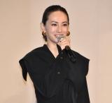 映画『約束のネバーランド』の初日舞台あいさつに出席した北川景子 (C)ORICON NewS inc.