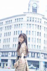 デートの待ち合わせは銀座で=日向坂46・齊藤京子ソロ写真集『とっておきの恋人』 撮影:岡本武志