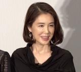 映画『天外者』公開記念舞台あいさつに登壇した筒井真理子 (C)ORICON NewS inc.