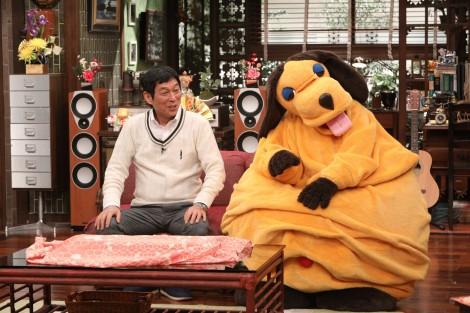 来年1月2日放送『新春大売り出し! さんまのまんま』に出演する明石家さんま (C)カンテレ