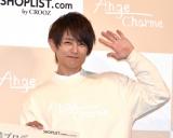 子ども服ブランド『Ange Charme』の記者発表会に出席した杉浦太陽 (C)ORICON NewS inc.