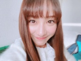 ロングヘア姿の平祐奈(写真は公式ブログより)