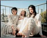 『ViVi』2021年2月号に登場する櫻坂46(左から)藤吉夏鈴、森田ひかる、山崎天