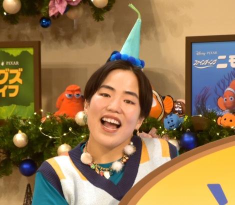"""クリスマスは予定なしだと嘆いたゆりやんレトリィバァ=映画『ソウルフル・ワールド』配信記念 ピクサー""""きらめき""""クリスマス・パーティー (C)ORICON NewS inc."""