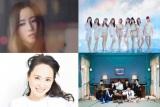 『第62回輝く!日本レコード大賞』特別賞受賞者(上段左から)Uru、NiziU、(下段左から)松田聖子、BTS