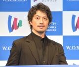 『開局30周年 新生WOWOW発表会』にゲストとして参加した斎藤工 (C)ORICON NewS inc.