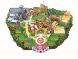 『スーパー・ニンテンドー・ワールド』のエリアマップ(C)Nintendo