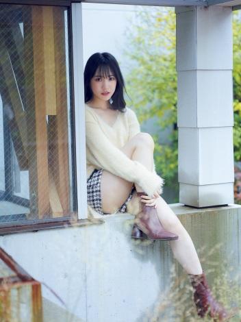 『FLASHスペシャルグラビアBEST』2021年新年号に登場するNMB48・横野すみれ(C)田川雄一、光文社
