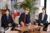 『東野&吉田のほっとけない人』に出演するA.B.C-Z(左から)河合郁人、塚田僚一、橋本良亮(C)MBS
