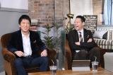 『東野&吉田のほっとけない人』に出演する(左から)吉田敬、東野幸治(C)MBS