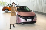 『日産ギャラリー ウインターイルミネーション 2020』イベントに参加した神谷由香