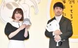 """花澤香菜(左)が杉田智和の""""奔放トーク""""にツッコミ (C)ORICON NewS inc."""