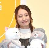 『犬と猫どっちも飼ってると毎日たのしい展』PRイベントに出席した金澤まい (C)ORICON NewS inc.