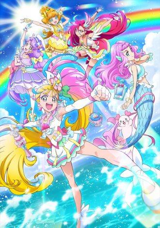 『トロピカル〜ジュ!プリキュア』(2021年2月28日スタート)キービジュアル (C)ABC-A・東映アニメーション