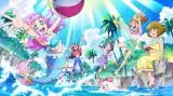 『トロピカル〜ジュ!プリキュア』(2021年2月28日スタート)1年中、常夏ハイテンション!(C)ABC-A・東映アニメーション