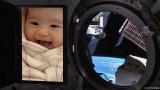 「Welcome to T he Earth」=BSテレ東開局20周年特別企画特別番組『KIBO宇宙放送局』LIVE「宇宙の初日の出2021 from 国際宇宙ステーション」(12月31日 深夜放送) (C)KIBO宇宙放送局
