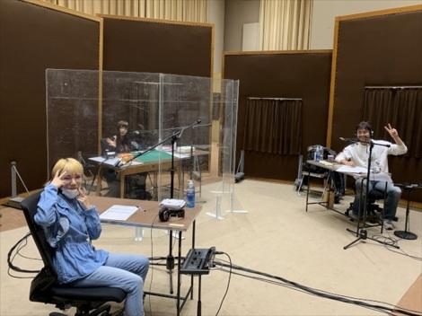 12月30日放送、NHK-FM『ミュージックライン 勝手に紅白スペシャル』Reolがゲスト出演した収録時の様子 (C)NHK