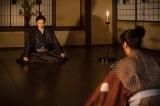 美濃から斎藤利三(須賀貴匡)がやってくる=大河ドラマ『麒麟がくる』第38回より(C)NHK