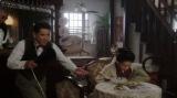 (左から)平田六郎(満腹満)、宮元潔(西村和彦)、竹井千代(杉咲花)=連続テレビ小説『おちょやん』第5週・第21回より (C)NHK
