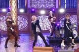 『MelodiX!スペシャル2020』で一夜限りの「女々しくて」2020バージョンを披露するゴールデンボンバー(C)テレビ東京