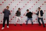 『第71回紅白歌合戦』のリハーサルに参加した純烈(左から)酒井一圭、白川裕二郎、後上翔太、小田井涼平(C)NHK