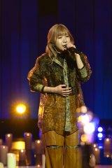 『第71回紅白歌合戦』のリハーサルに参加したLittle Glee Monster・MAYU(C)NHK