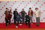 『第71回紅白歌合戦』のリハーサルに参加したHey! Say! JUMP(前列左から)山田涼介、有岡大貴、知念侑李、伊野尾慧、(後列左から)中島裕翔、高木雄也、八乙女光、薮宏太(C)NHK