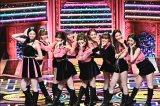 TBS『第62回 輝く!日本レコード大賞』に登場したNiziU(C)TBS