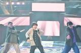 TBS『第62回 輝く!日本レコード大賞』に登場した三浦大知(C)TBS