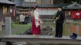 みつえ(東野絢香)と福富の一人息子・富川福助(井上拓哉)(C)NHK