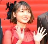 花澤香菜(『第32回東京国際映画祭』レッドカーペットで撮影) (C)ORICON NewS inc.