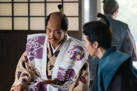 羽柴秀吉(佐々木蔵之介)=大河ドラマ『麒麟がくる』第39回より(C)NHK