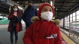 鉄オタ少年の夢は赤い新幹線「こまち」に乗りたい=1月4日放送、『YOUは何しに日本へ? 新年1発目はYOUに石原さとみがやってきたSP』(C)テレビ東京