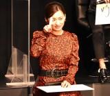 映画『ヤクザと家族 The Family』完成報告イベントに出席した尾野真千子 (C)ORICON NewS inc.