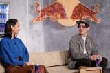 オンライン成人式イベント『Red Bull 成人祭』に登壇した岡田結実(左)と原田海(クライミング/レッドブル・アスリート)