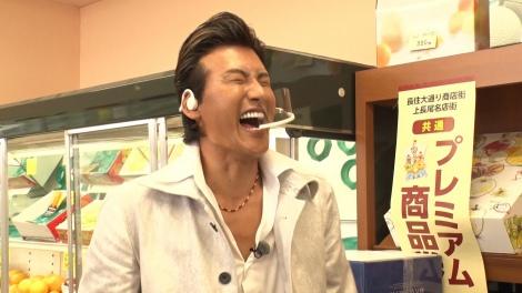 10日放送の『爆買い☆スター恩返し第4弾 新庄&フワちゃん&東山が挑戦SP』(C)フジテレビ