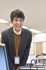 『しゃべくり007』で行われた『ウチの娘は、彼氏が出来ない!!』出演者オーディションで決定し緊張のクランクインを果たしたソラシド本坊 (C)日本テレビ