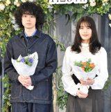 映画『花束みたいな恋をした』完成報告イベントに出席した(左から)菅田将暉、有村架純 (C)ORICON NewS inc.