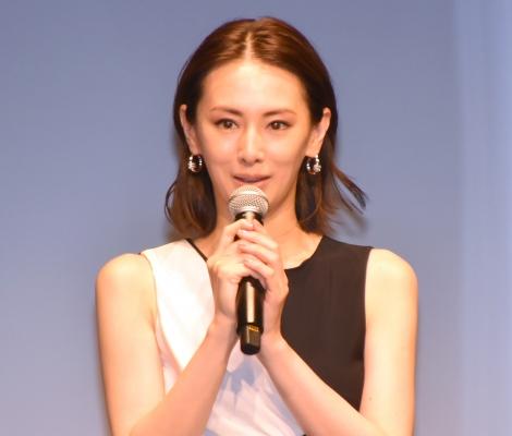 映画『ファーストラヴ』完成報告イベントに参加した北川景子 (C)ORICON NewS inc.