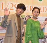 映画『おもいで写眞』の完成報告会見に出席した(左から)高良健吾、深川麻衣 (C)ORICON NewS inc.