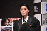 『アクターズ・ショート・フィルム』完成報告イベントに出席した磯村勇斗