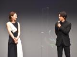 映画『ファーストラヴ』完成報告イベントに参加した(左から)北川景子、中村倫也(C)ORICON NewS inc.
